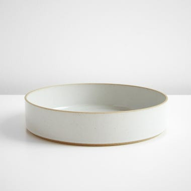 Hasami Gloss Gray Bowl 10""