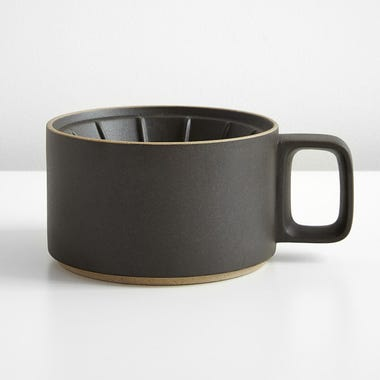 Hasami Black Coffee Dripper