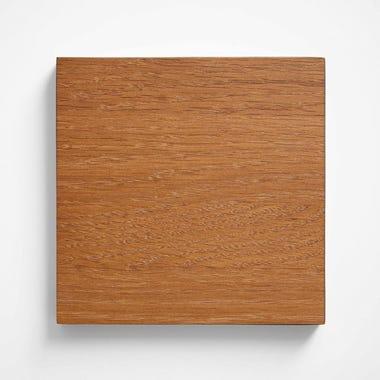 White Oak Tung Oil Sienna Finish Wood Swatch