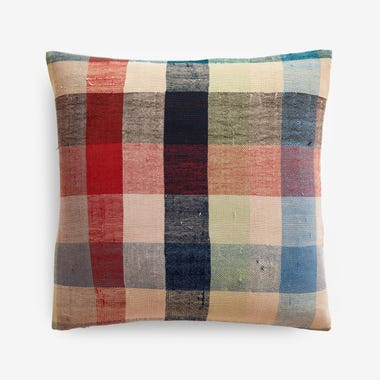 "Wilfred Plaid Throw Pillow Cover 17"" x 17"""