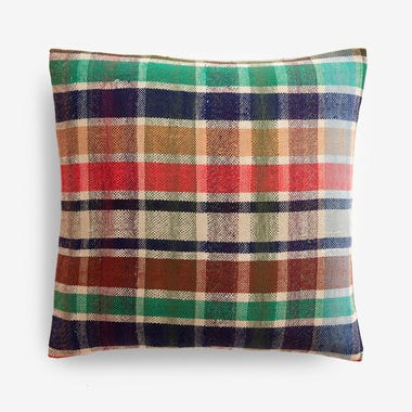 "Elliott Plaid Throw Pillow Cover 17"" x 17"""