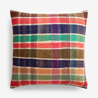 "Elliott Plaid Throw Pillow Cover 20"" x 20"""