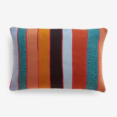 "Fletcher Stripe Throw Pillow Cover 12"" x 18"""