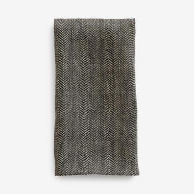 Herringbone Linen Dishtowel