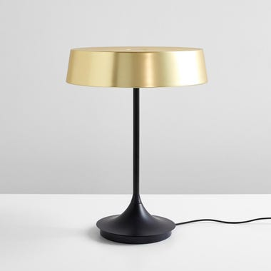 Dakin Brass LED Table Lamp