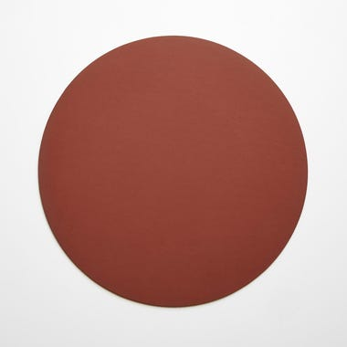 Dot Brick Round Leather Placemat