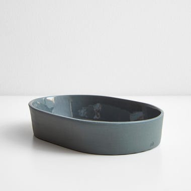 Chroma Sage Oval Tray