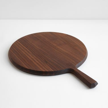 Round Walnut Wood Board