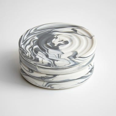 Carrara Coasters Set of 4
