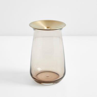 Luna Brown Large Vase