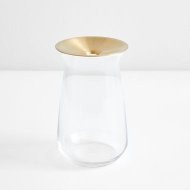 Luna Clear Large Vase