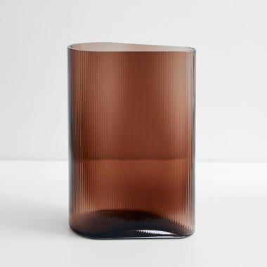 "Mist Caramel Vase 11.5"" H"