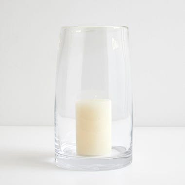 LSA International Stems Clear Lantern and Vase