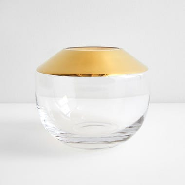 LSA International Space Gold Vase