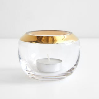 LSA International Space Gold Votive Holder