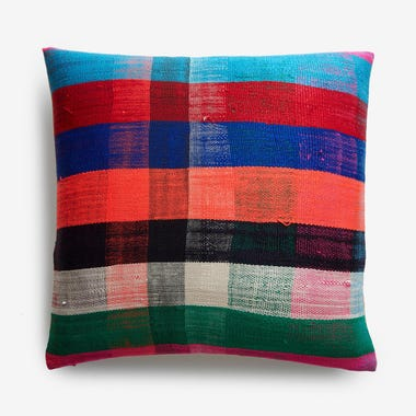 "Durham Plaid Throw Pillow Cover 20"" x 20"""