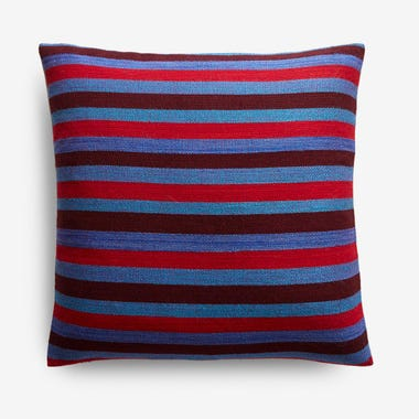 "Hayes Stripe Throw Pillow Cover 17"" x 17"""