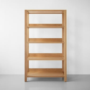 Wolcott Sand Large Bookcase