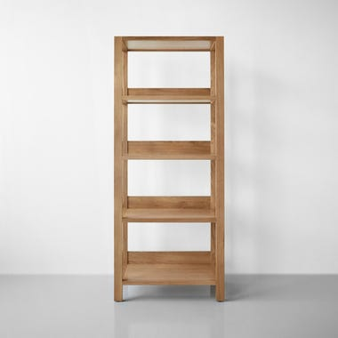 Wolcott Sand Small Bookcase