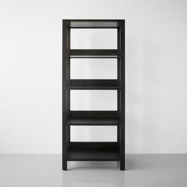 Wolcott Pewter Small Bookcase