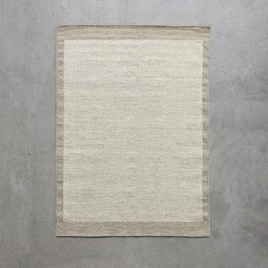"""Field Taupe Rug 6'6"""" x 9'8"""""""