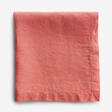 Linen Coral Napkin
