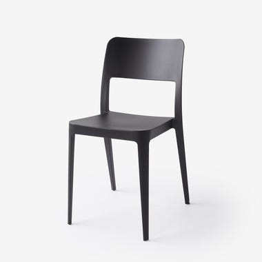 Nene Black Side Chair