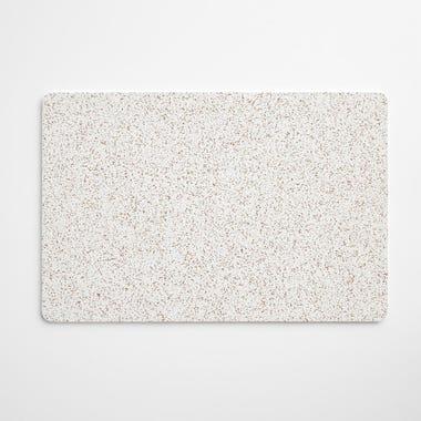 "Cork White Rectangular Mat 12"" x 18"""