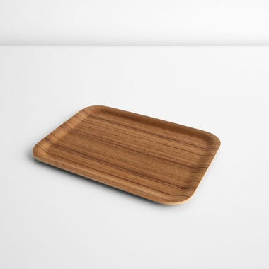 Non-Slip Teak Small Tray