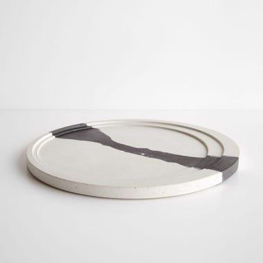 Phases Black and White Platter