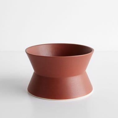 Zig Zag Brick Low Bowl