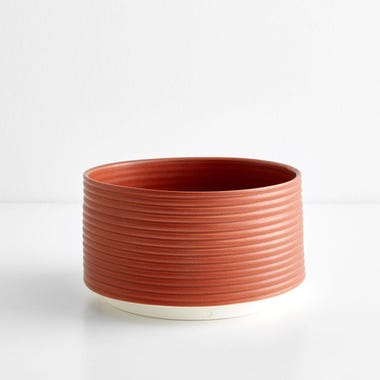 Ribbed Brick Planter