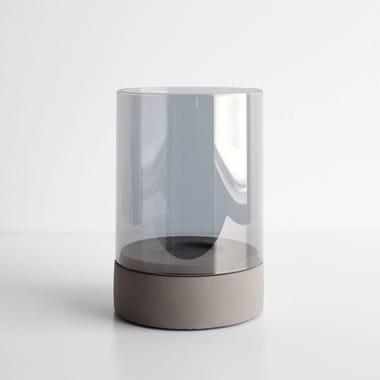 Spirito Gray Candleholder