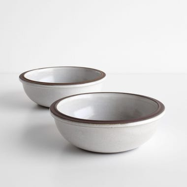 Tinge White Bowls Set of 2