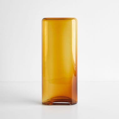 Layers Amber Small Vase