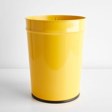 Bunbuku Yellow Waste Can