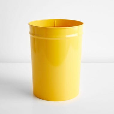 Bunbuku Yellow Small Waste Can