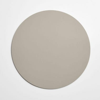 Dot Cement Round Leather Placemat