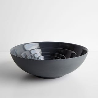 Marcy Charcoal Nesting Bowls Set of 5