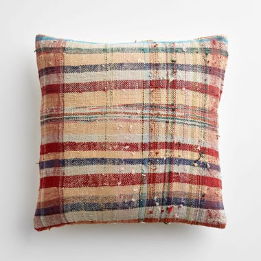 "Marlow Plaid Throw Pillow Cover 17"" x 17"" #1"