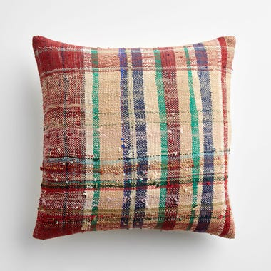 "Marlow Plaid Throw Pillow Cover 17"" x 17"" #2"