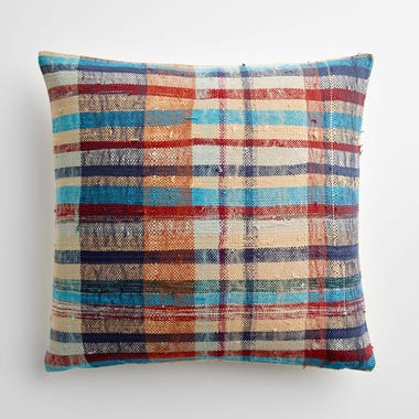 "Marlow Plaid Throw Pillow Cover 20"" x 20"""
