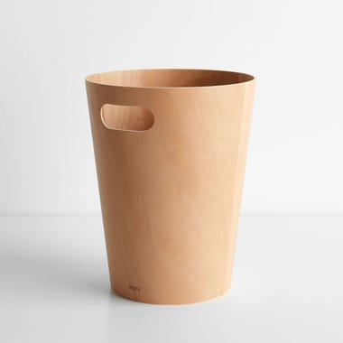 Woodrow Natural Waste Bin