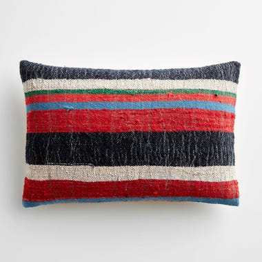 """Allerdale Stripe Throw Pillow Cover 12"""" x 18"""""""
