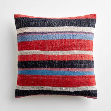 "Allerdale Stripe Throw Pillow Cover 17"" x 17"""