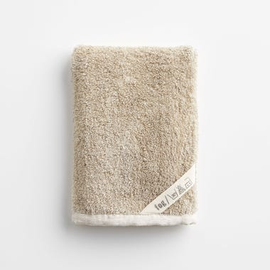 Linen Natural Bath Mitt