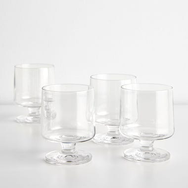 Stub Stackable Medium Glasses 7.1oz Set of 4