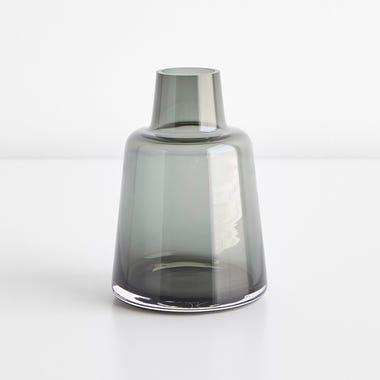 Flora Smoke Small Vase
