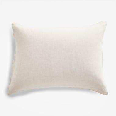 Oatmeal Chambray Pillowcase Set