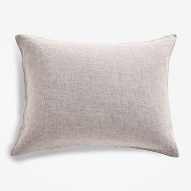 Burgundy Chambray Pillowcase Set